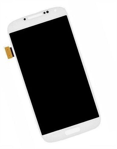 Mobilo tālruņu rezerves daļas Samsung Galaxy S4 White LCD Screen