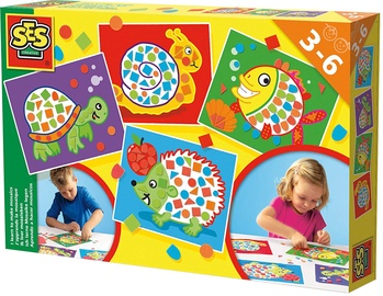 Mozaika SES Creative Children's I Learn To Make Mosaics 14827