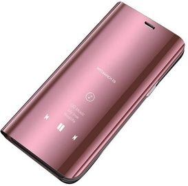 Hurtel Clear View Case For Xiaomi Redmi 9C Pink