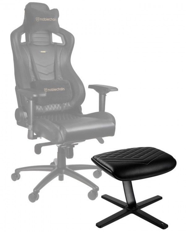 Noblechairs Footrest PU Leather Black/White