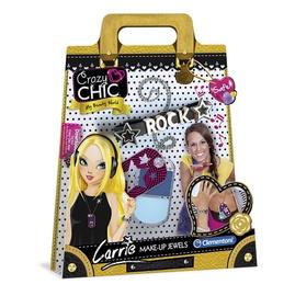 Kosmetikos ir papuošalų rinkinys Clementoni Crazy Chic Carrie, nuo 6 m.