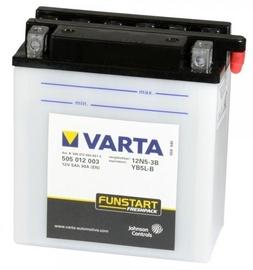 Varta Powersports Freshpack SLI 12N5-3B / YB5L-B