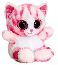 Keel Toys Animotsu Pink Cat 15 cm