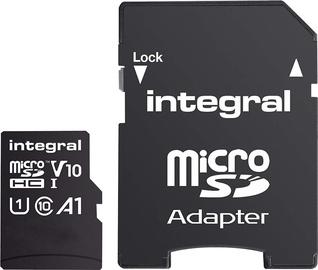 Integral INMSDH-100 16GB microSD V10 UHS-I U1 w/Adapter