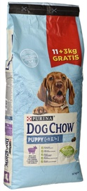 Purina Dog Chow Puppy with Lamb 11+3kg