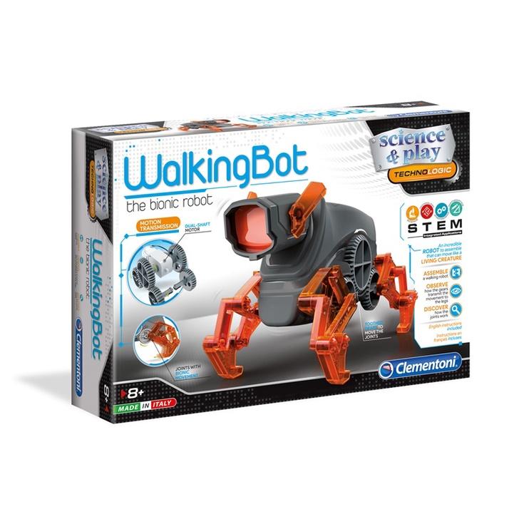 Игрушечный робот Clementoni Walking Bot 75039LB