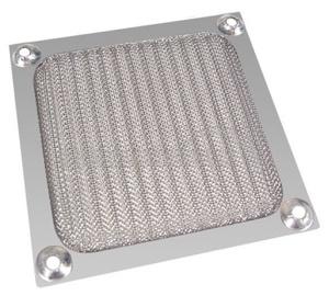 Ohne Hersteller Aluminum Fan Filter 80mm Silver