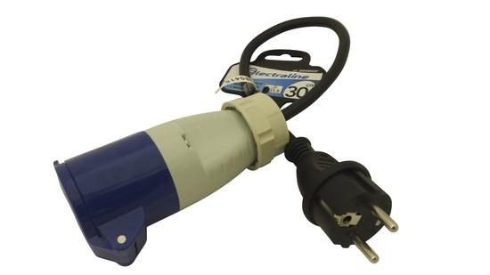 Adapter 3g1.5vv-f f.cee+m 10/16a 0.3m