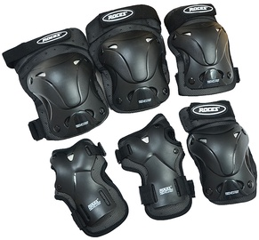 Roces Ventilated 3 Pack 301332 Black XL