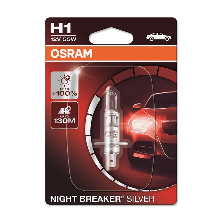 Osram Night Breaker Silver H1 55W 12V
