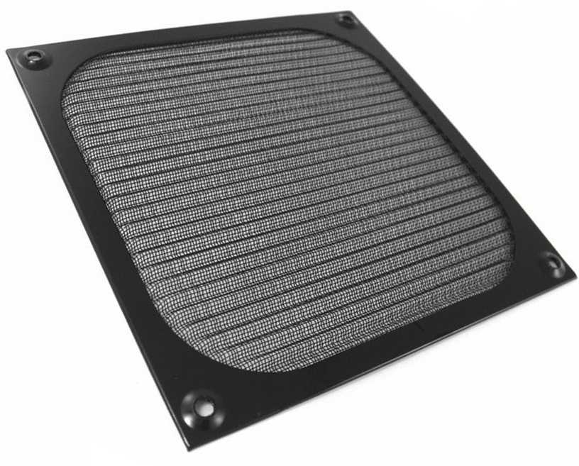 Ohne Hersteller Aluminum Fan Filter 120mm Black