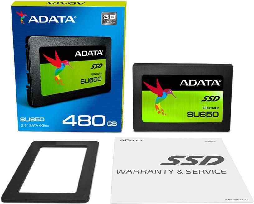 "Adata Ultimate SU650 480GB SATAIII 2.5"" ASU650SS-480GT-C"