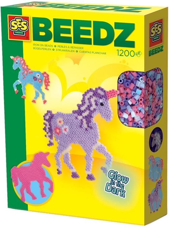 Mozaika SES Creative Beedz Iron On Beads Fantasy Horses 06115S