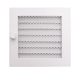 Решетка камина NORDflam Fireplace Grille White 170x170mm