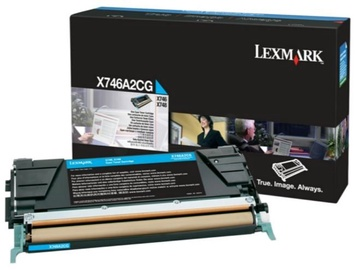 Lexmark X746A2CG Toner Cartridge Cyan