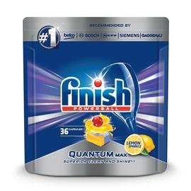 Капсулы для посудомоечной машины Finish Quantum Max Lemon, 36 шт.