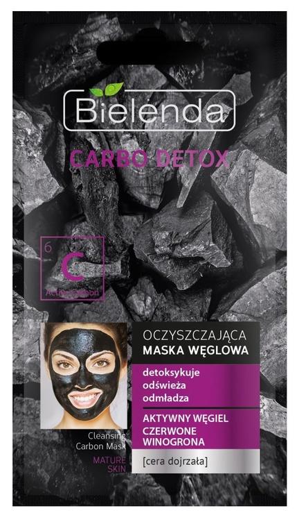 Bielenda Carbo Detox Purifying Mask 8g Mature Skin