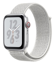 Apple Watch Series 4 40mm NIKE+ Silver Aluminum Case with Summit White Sport Loop