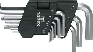 Topex 35D955 HEX Key Set 9pcs