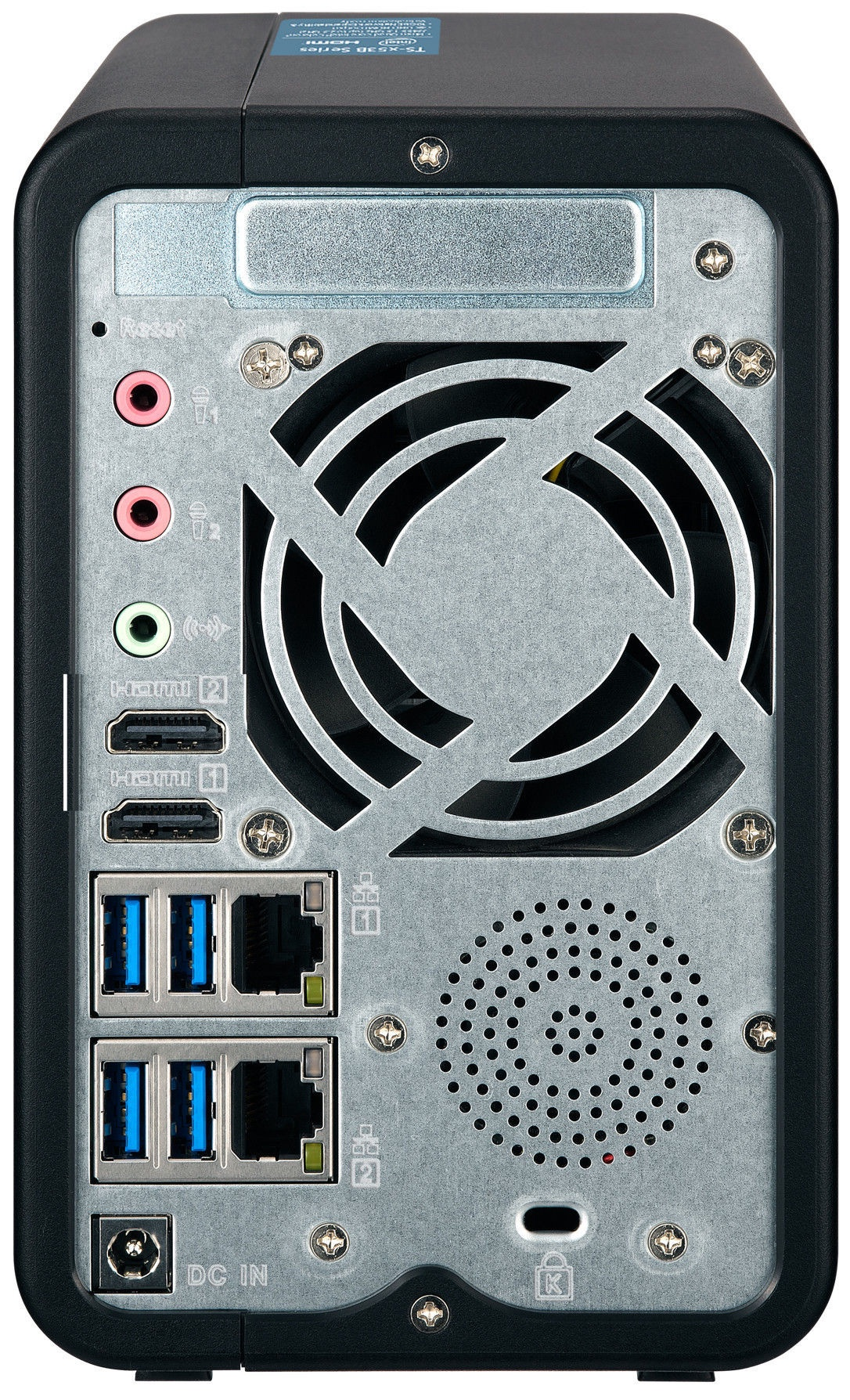QNAP Systems TS-253B-4G NAS 6TB 2-Bay