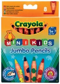 Crayola MiniKids Jumbo Pencils 3678