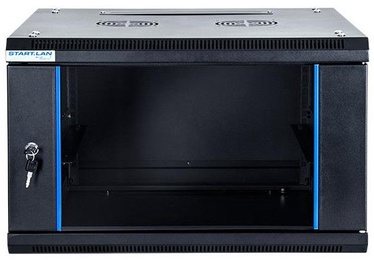 "Digitalbox START.LAN Wall Cabinet 19"" 6U/600mm Glass Black"