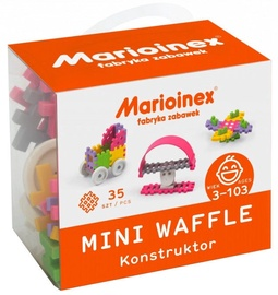 Marioinex Mini Waffle Constructor Girl 35pcs 902790