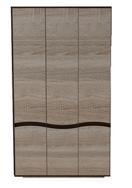 CMF Group Geneva 3D Wardrobe Sonoma Oak