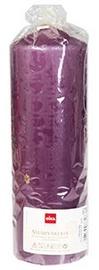 Eika Pillar Candle 21x7cm Old Purple
