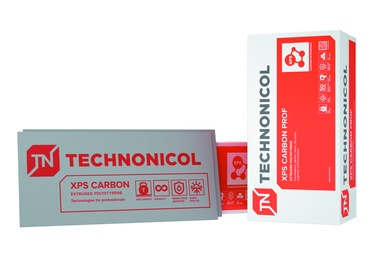 Ekstruzinis polistirenas Technonicol Carbon Prof, 100 x 580 x 1180 mm, 4 vnt.
