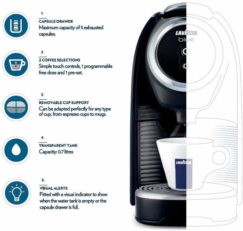 Kavos aparatas Lavazza Blue LB300 Classy Mini