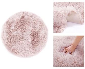 AmeliaHome Dokka RUG/AH Carpet Pink R 90x90cm