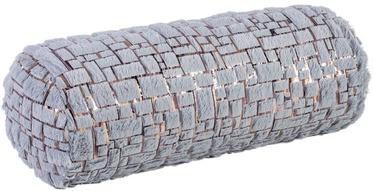Home4you Pillow Roll Soft Winter D18x50cm Grey