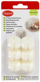 Clippasafe 6 Plug Socket Covers EU 2 Pin