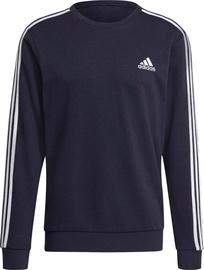 Adidas Essentials Sweatshirt 3-stripes GK9079 Navy L