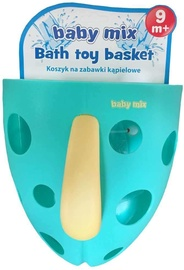 Baby Mix Bath Toy Basket Mint