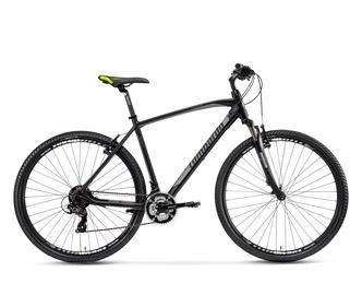 Krosinis vyriškas dviratis Amantea 100 juodas