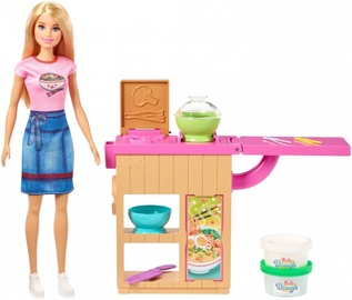 Lelle Mattel Barbie Noodle Maker Playset GHK43