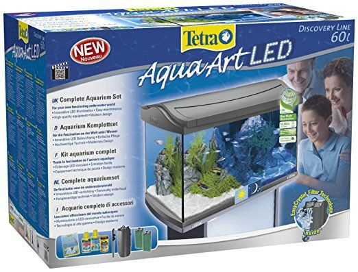 Tetra AquaArt Aquarium LED 60l Grey