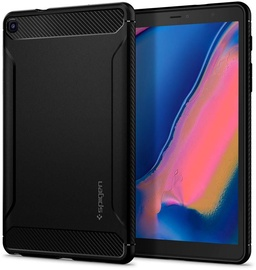 Spigen Rugged Armor Case With S Pen For Samsung Galaxy Tab A 8.0 2019 Black