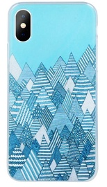 Mocco Trendy Winter Back Case For Samsung Galaxy S8 Blue
