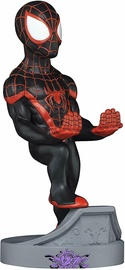 Exquisite Gaming Cable Guys: Marvel Spider-Man Miles Morales Phone And Controller Holder Incl. 2in1 Cable