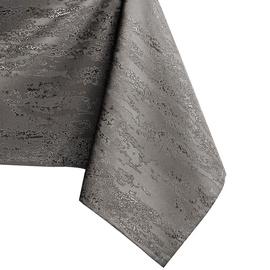 Скатерть AmeliaHome Vesta, серебристый/серый, 1400 мм x 4500 мм