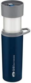 GSI Outdoors Glacier Stainless Commuter JavaPress Cup Blue