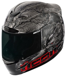 Icon Helmet Am Thriller Black L