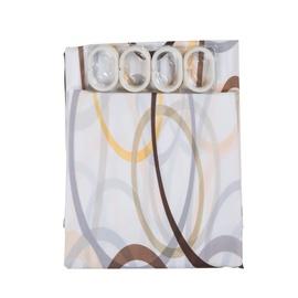 Vonios užuolaida Futura, 180 x 180 cm