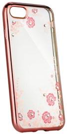 Blun Diamond Back Case For Samsung Galaxy J5 J530F Transparent/Rose Gold