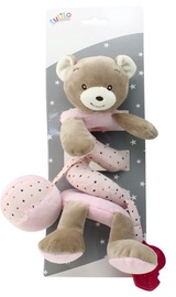 Axiom New Baby Plush Spring Teddy Bear Pink 30cm 4954a