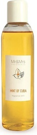 Gaisa atsvaidzinātājs Mr & Mrs Fragrance Blanc Liquid Diffuser Refill Mint Of Cuba, 200 ml