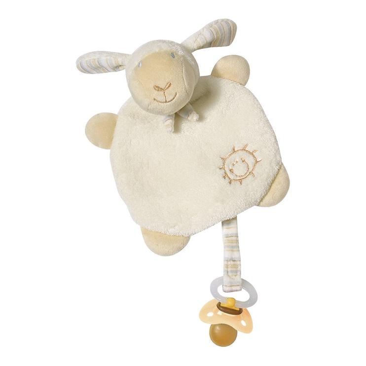 Unemänguasi BabyFehn Cuddlefriend With Pacifier Holder Sheep 154443